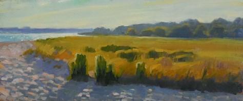 """Path to the beach"" original fine art by Kathy Weber"