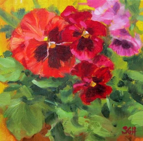 """Signs of Spring"" original fine art by Sandy Haynes"