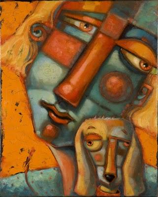 """""""Lulu's Bubble"""" original fine art by Brenda York"""
