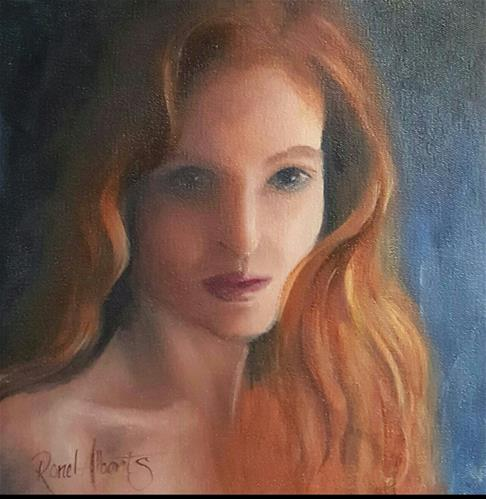 """""""GINGER MARY"""" original fine art by Ronel Alberts"""