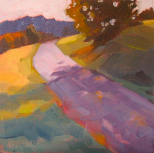 """Around the Bend"" original fine art by Nancy Parsons"