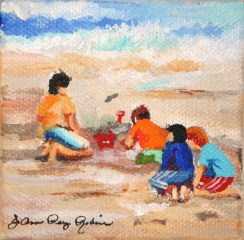 """Contruction Site"" original fine art by JoAnne Perez Robinson"