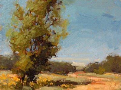 """Follow the Eastern Path"" original fine art by Laurel Daniel"