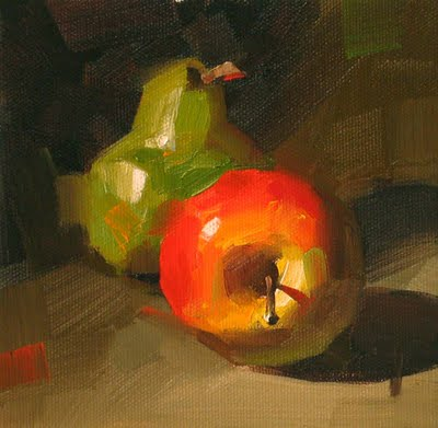 """""""Complementary --- Sold"""" original fine art by Qiang Huang"""