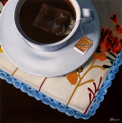 """Sunday Morning"" original fine art by Jelaine Faunce"