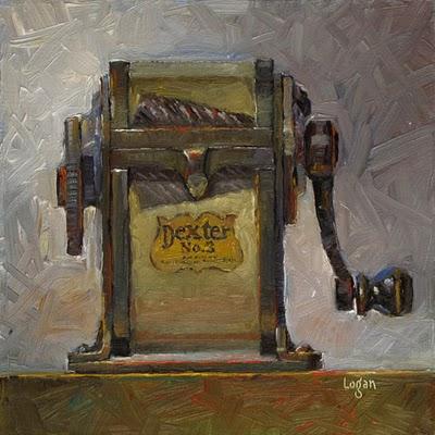 """""""Dexter No. 3"""" original fine art by Raymond Logan"""