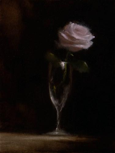 """""""Pink Rose"""" original fine art by Neil Carroll"""