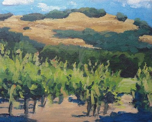 """Kinley Drive"" original fine art by J. Farnsworth"