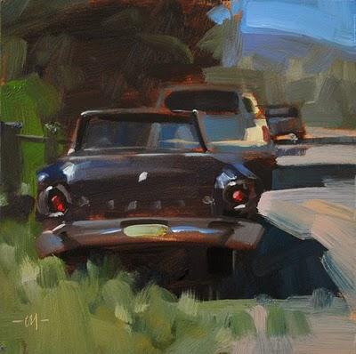 """""""Rear Ends"""" original fine art by Carol Marine"""