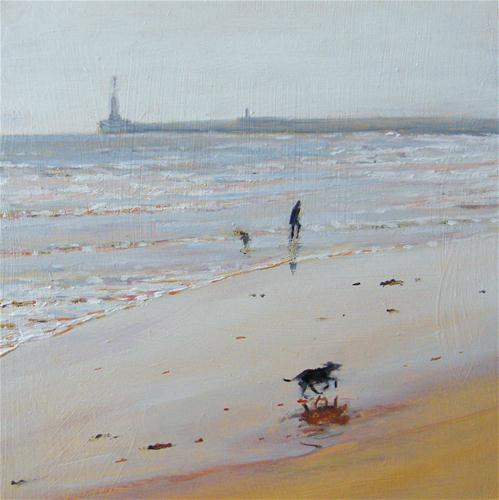"""Seaburn"" original fine art by Ken Devine"