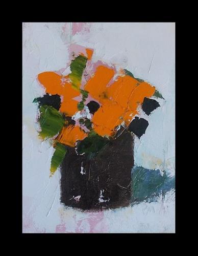 """Orange Scent"" original fine art by Pamela Munger"