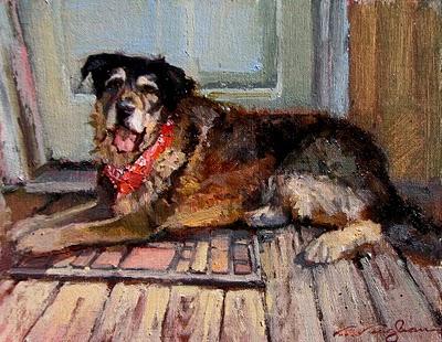 """Strider"" original fine art by V.... Vaughan"