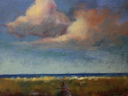 """Beach Landscape Paintings by Arizona Artist Amy Whitehouse"" original fine art by Amy Whitehouse"