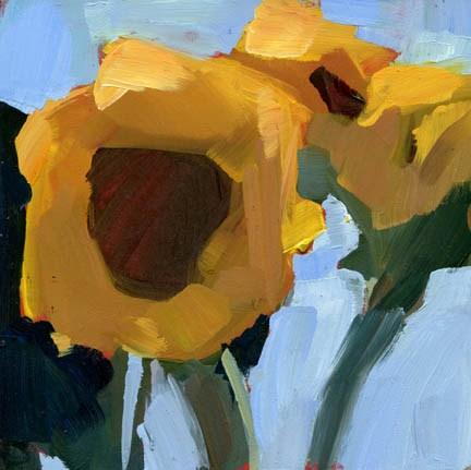 """1115 Surprise (surprise!)"" original fine art by Lisa Daria"