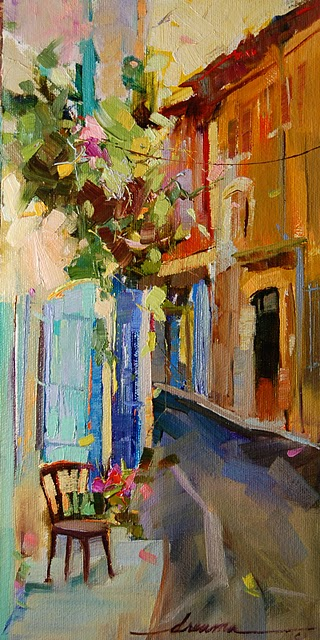"""""""Magical Dance of Italy"""" original fine art by Dreama Tolle Perry"""