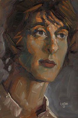 """Peter"" original fine art by Raymond Logan"