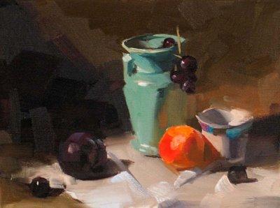 """Demo at Lacombe LA 1 --- Sold"" original fine art by Qiang Huang"
