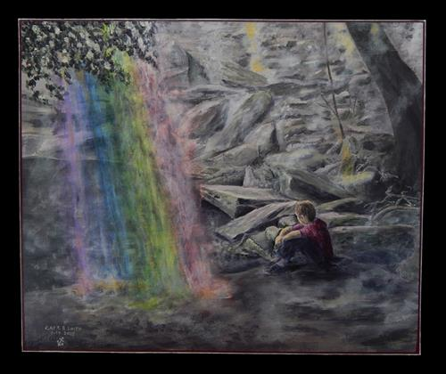 """""""Lost"""" original fine art by Captain B Smith"""