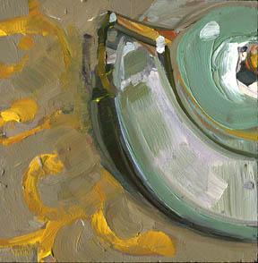 """""""Indoor/Outdoor #892"""" original fine art by Lisa Daria"""