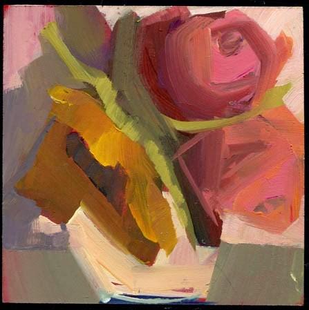 """1949 White Water"" original fine art by Lisa Daria"