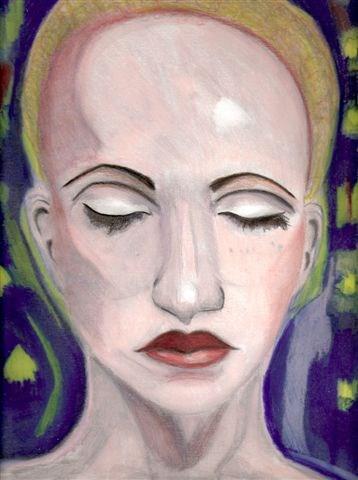"""The Sleeper and The Dream"" original fine art by Terri Brown-Davidson"