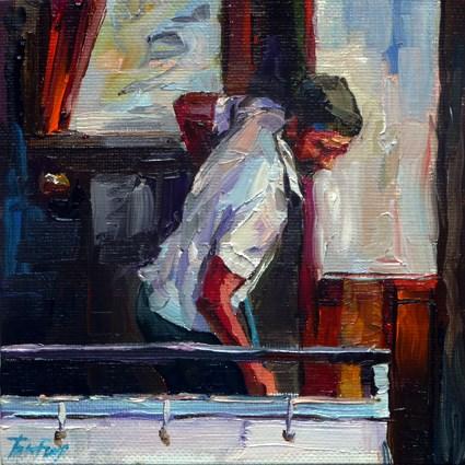 """a sailor"" original fine art by Jurij Frey"