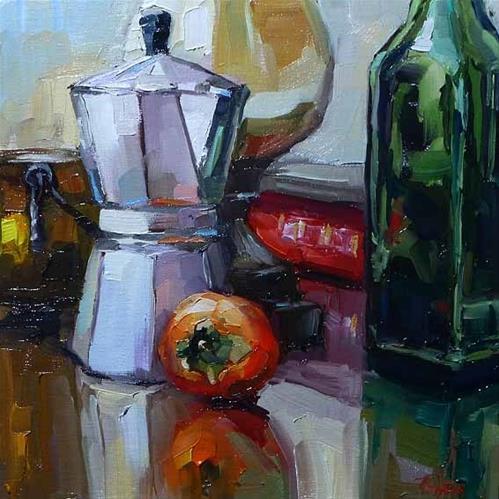 """""""still life"""" original fine art by Jurij Frey"""