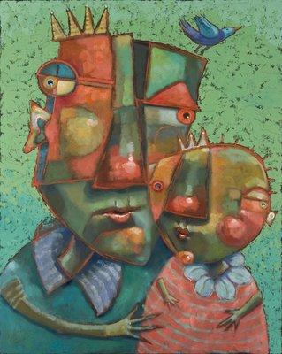 """Twig Was A Clever Bird"" original fine art by Brenda York"