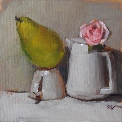 """A series experiment --- SOLD"" original fine art by Carol Marine"