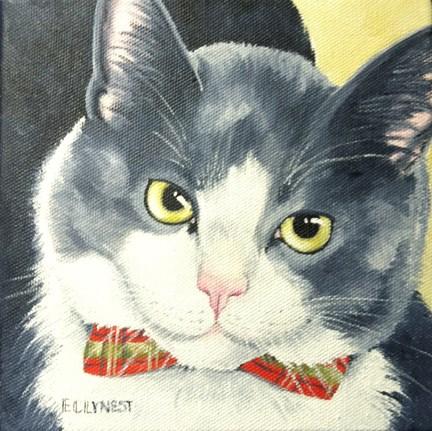 """James"" original fine art by Elaine Lynest"