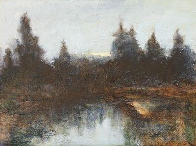 """Morning Light"" original fine art by Susan Hammer"