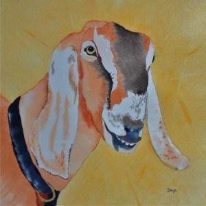 """July 17: Caramel"" original fine art by Dana Richards"