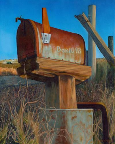 """Along The Rural Route"" original fine art by Wendi Vann Johnson"