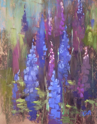 """Finland Workshop a Day 1...inside From the Rain"" original fine art by Karen Margulis"