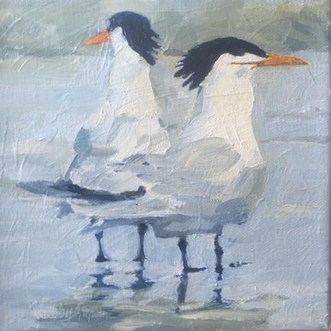 """""""#179 Dos"""" original fine art by Libby Gilpatric"""