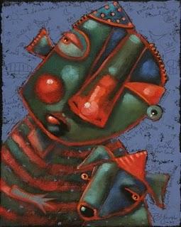"""Hush Puppy"" original fine art by Brenda York"