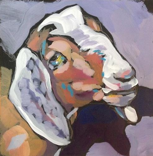 """A Knowing Eye"" original fine art by Kat Corrigan"