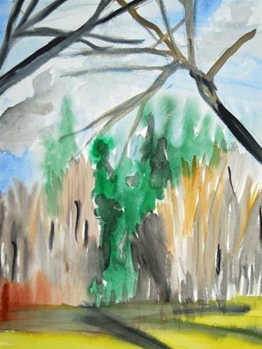 """Quick Shadows"" original fine art by Donna Crosby"