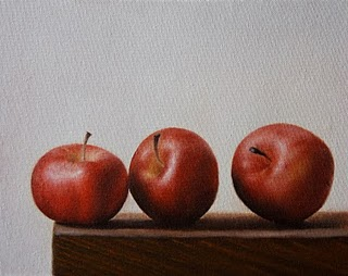 """Crab Apples 2"" original fine art by Jonathan Aller"