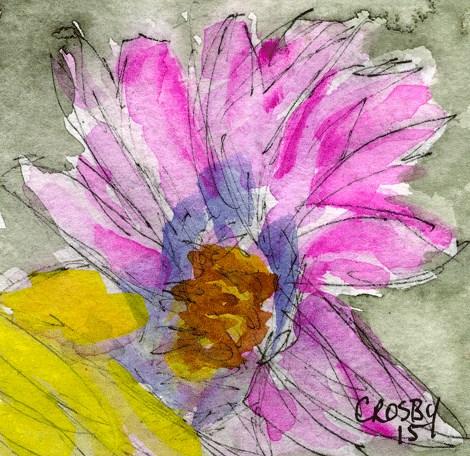 """Mortality Is Beautiful 2"" original fine art by Donna Crosby"