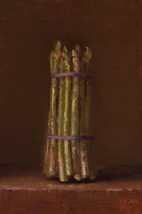 """""""Spring Asparagus  (+ NEW Workshop this Fall at Peto Museum)"""" original fine art by Abbey Ryan"""