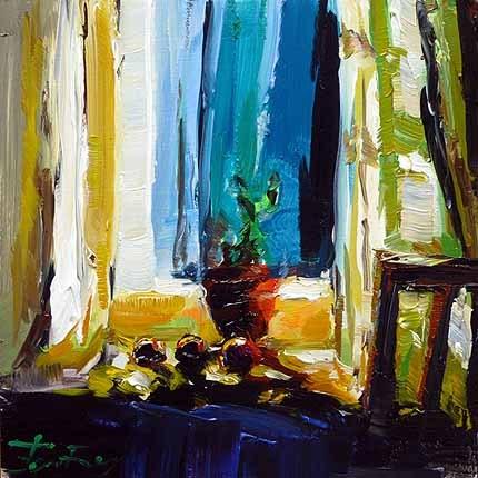 """Blume"" original fine art by Jurij Frey"