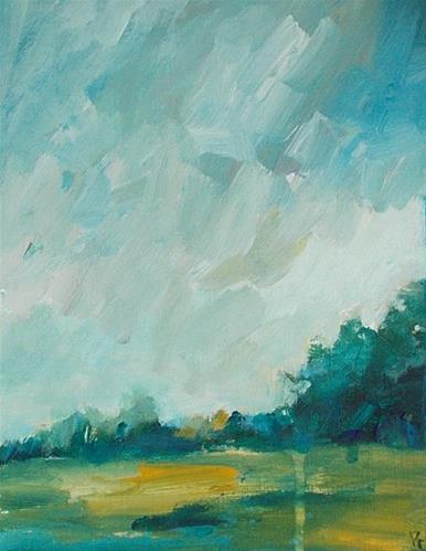 """""""All the Greenery x"""" original fine art by Pamela Munger"""