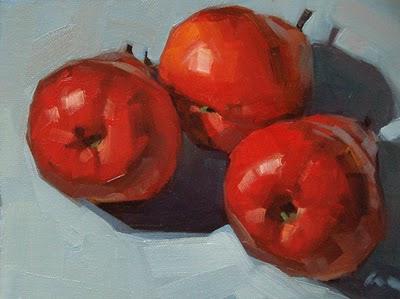"""Pear Bottoms --- SOLD"" original fine art by Carol Marine"