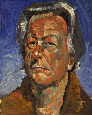 """David in 2010"" original fine art by Raymond Logan"