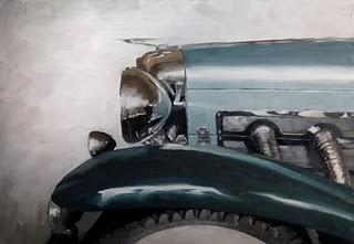 """The Classic Profile"" original fine art by Michael Naples"