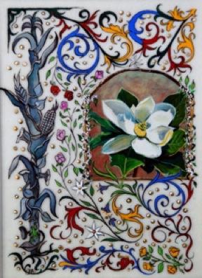 """Illuminating New Orleans: The Garden District"" original fine art by Patti Adams"
