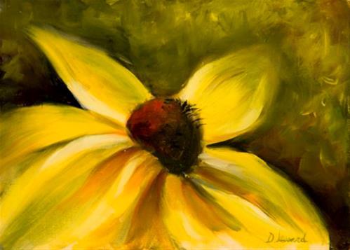 """""""Rudy #928"""" original fine art by Dee Lessard"""