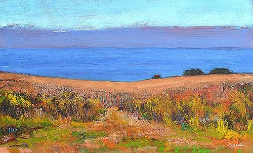 """Crystal Cove, Laguna Beach Painting"" original fine art by Kevin Inman"