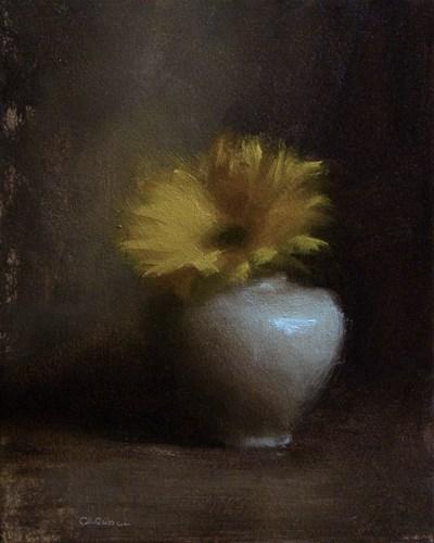 """""""Sunflower"""" original fine art by Neil Carroll"""